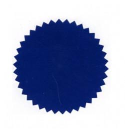 Reljefinio antspaudo lipdukas 51mm mėlynos sp