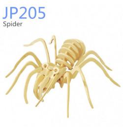 Medinė 3D dėlionė Voras