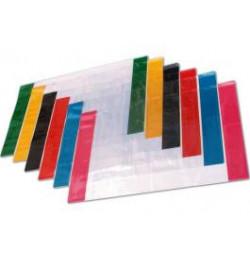 Aplankalas spalvotu kraštu A4 reguliuojamas
