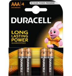 Elementai Duracell R3 AAA 1.5V 4vnt