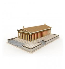Medinė dėlionė su dekoracija Partenonas JPD401