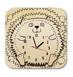 Medinis laikrodis Ežys AC208