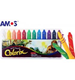 Šilkinės kreidelės Colorix 12sp