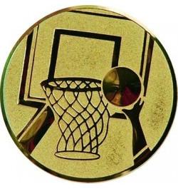 Viduriukas medaliui 25mm krepšinis A8 aukso sp.