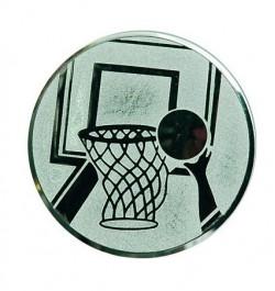 Viduriukas medaliui 25mm krepšinis A8 sidabro sp.