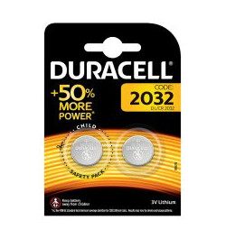 Ličio baterija Duracell CR2032 3V 2vnt