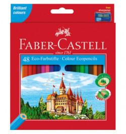 Spalvoti pieštukai Faber-Castell Pilis 48sp