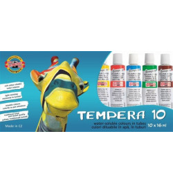 Temperos dažai Koh-I-Noor 16mlx10sp