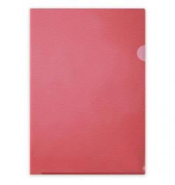 Vokelis L formos Interfolia A4 115mic raudonas