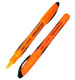 Teksto žymeklis Deli 35160 oranžinis