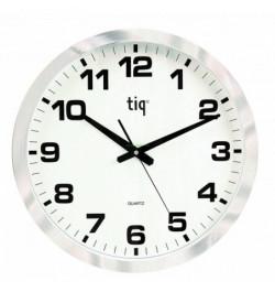 Sieninis laikrodis 851A skersmuo 400mm sidabro sp