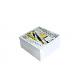 Užrašų lapeliai 80x80 balti neklijuoti 500lp