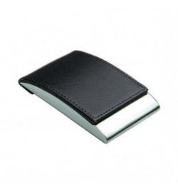 Vizitinių kortelių dėklas 98x64x14mm juodas