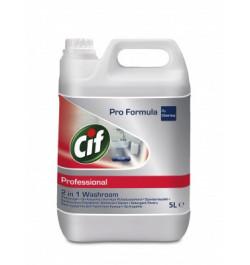 Sanitarinis valiklis Cif 2in1 5l