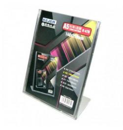 Stovelis K-470 A5 L-form plastikinis