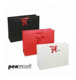 Dovanų maišelis Penword 26x32x11cm
