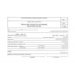 Privalomo sveikatos patikrinimo pažyma FR047/a 500vnt