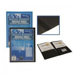 Aplankas Office Box 27729 A4 2 kišenės mėlynas