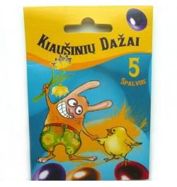 Dažai kiaušiniams 5sp