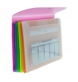 Aplankas Office Box 47011 A4 7 skyriai išplečiamas