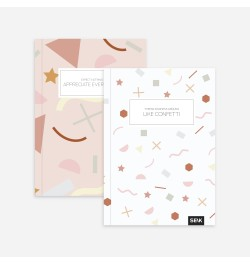 Užrašų knyga Appreciate & Kindness taškuota