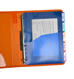 Plastikiniai skirtukai Office Box 93205 A4 5vnt