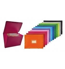 Aplankas Office Box 41211 A4+ 12 skyrių su guma