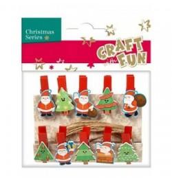 Segtukai Craft-Fun Santa ir...