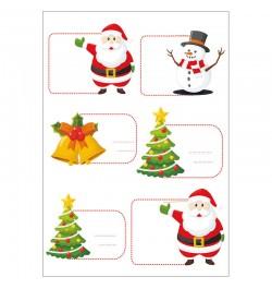 Kalėdiniai lipdukai A5 Nr. 1