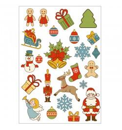 Kalėdiniai lipdukai A5 Nr. 2