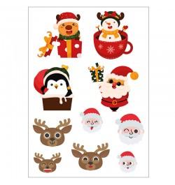 Kalėdiniai lipdukai A5 Nr. 3