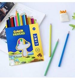 Spalvoti pieštukai Linc 24sp
