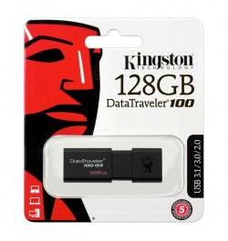 Flash atmintinė Kingston DT100 128GB
